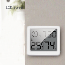 Ultra-thin Mini  LCD Digital Hygrometer Thermometer Accurate and Durable Electronic Energy-saving Temperature