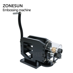 Image 4 - ZONESUN Leather Stamping Machine Cold Pressing Machine Embossing Repeating Pattern For Leather Belt Guitar Straps Logo Embosser