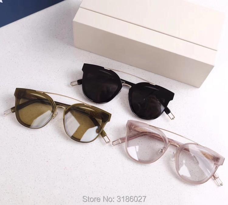94bc2359c67c 2018 Gentle Luxury Brand Designer V Korea New Tonic Sunglasses Vintage Men  Sunglasses Women UV400 lens