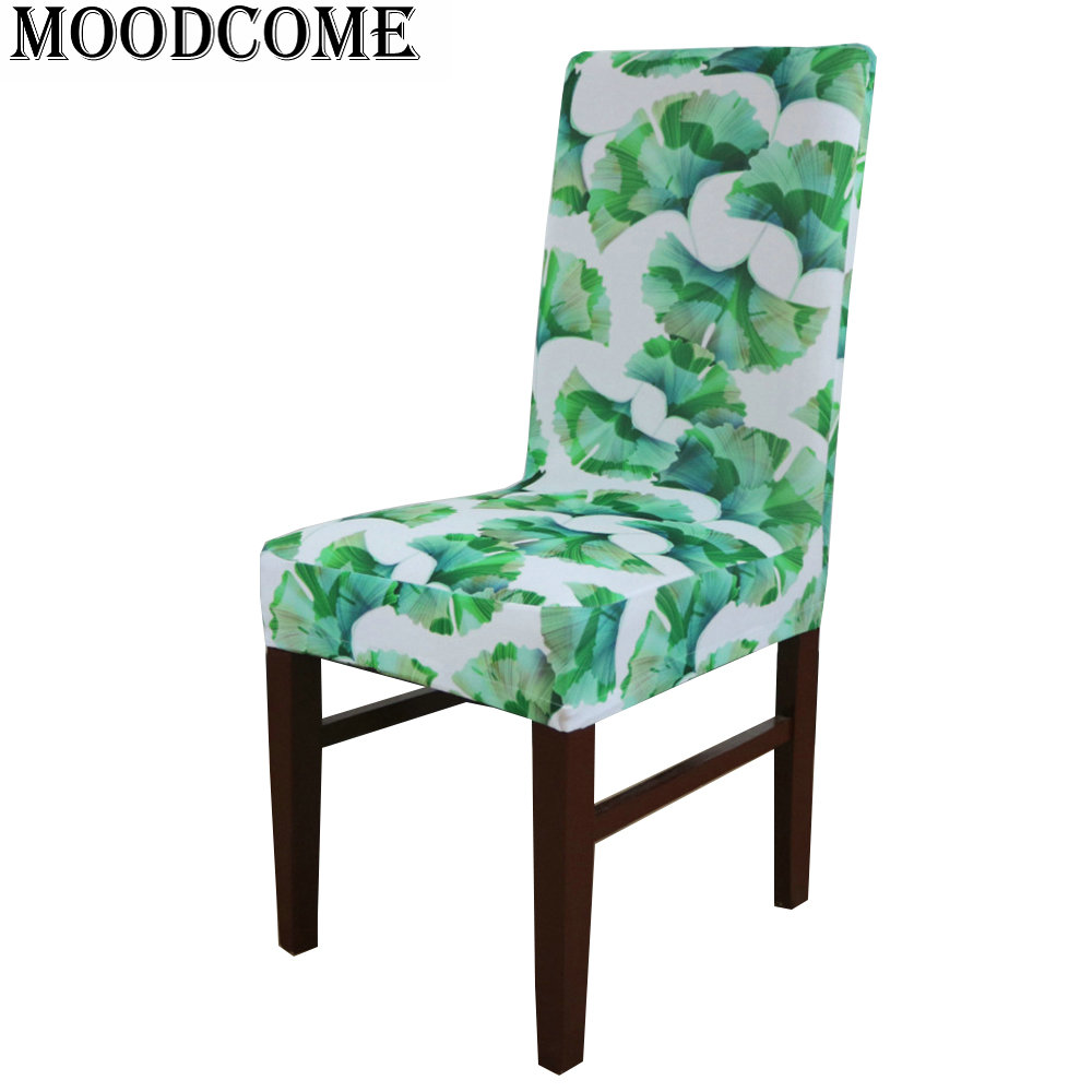 Chrysanthemum Printed Dining Chair Cover New Design Protector Funda Silla Housse Chaise In From Home Garden On Aliexpress