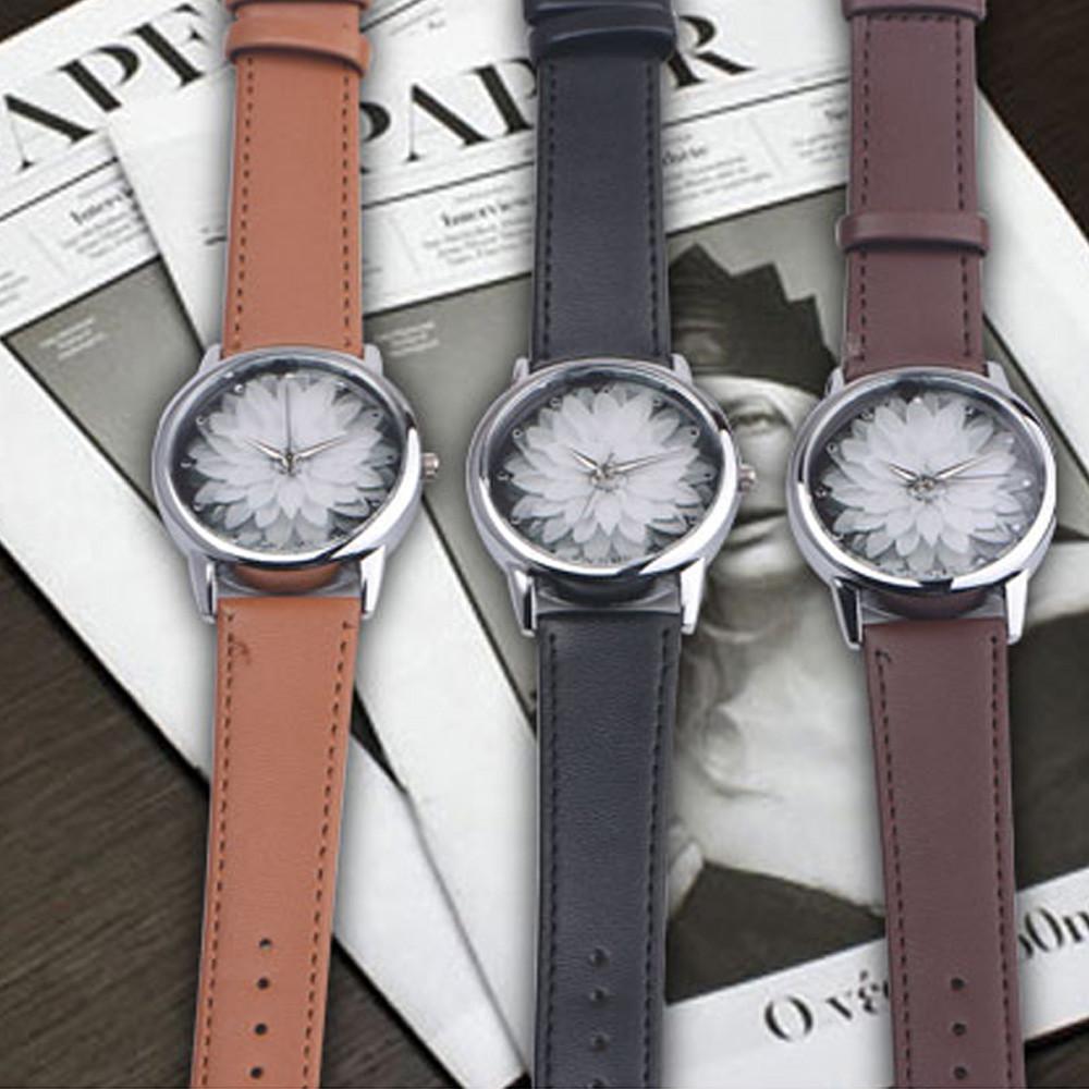 Men's Latest Fashion Luxury Leather Gifts Watch Elegant Classic Casual Analog Business Quartz Wristwatch 247 classic leather