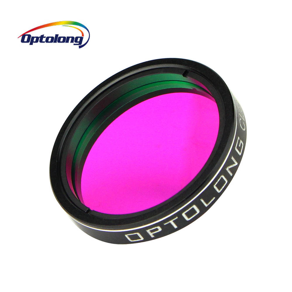 OPTOLONG 1.25 CLS Filter for Telescope Monocular Astronomy City Light Suppression Light Pollution Broadband Filter Photography optolong 2 filter 25nm o iii nebula o3 optical filter for astronomy telescope high quality 100