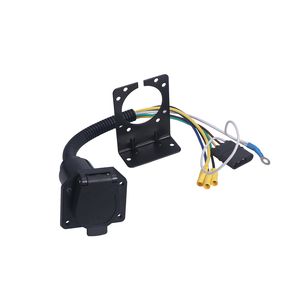 Wiring Mounting Bracket Reveolution Of Diagram Towing Harness Multi Tow Trailer Adapter Kit Connector With Socket Rh Aliexpress Com Aircraft Hitch