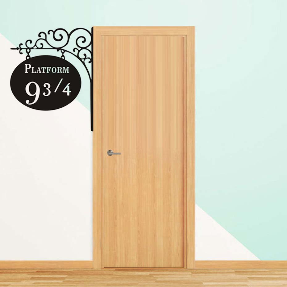 Creative Platform 9 3/4 Harry Potter Door Decor Stickers Artistic ...