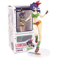 Dragon Ball Z Gals Lunchi Sexy PVC Figure Collectible Model Toy 20cm
