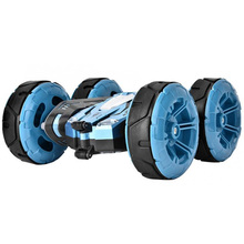 Large Double Sided Stunt Rc Car 2.4G Double-Sided Drift Deformation Buggy Rock Crawler Roll 360 Degree Flip Kids