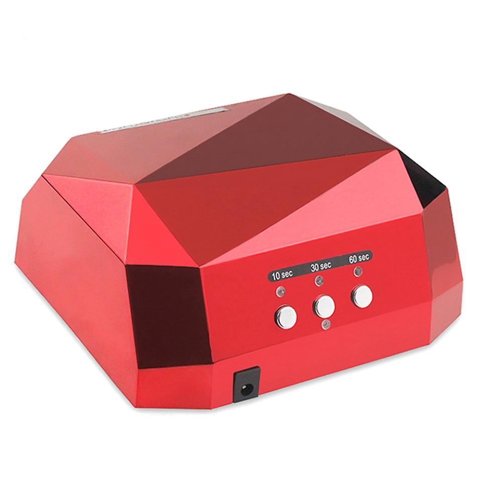 gel varnish 36W UV Lamp Nail Art Dryer LED Ultraviolet Nail Lamp Neck Art Lamination Nail Polish UV Gel Polish Nail Art