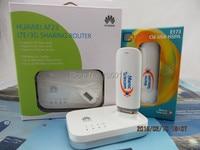 Desbloqueado huawei e173 7.2 7.2mbps hsdpa 3g usb modem + huawei af23 lte compartilhando doca