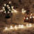 NUEVA Sakura Decoración Luces de Hadas 5 M 16.5FT 50led Alambre De Cobre Luces Led Al Aire Libre lámparas Festival de Navidad Del Partido Del dulce