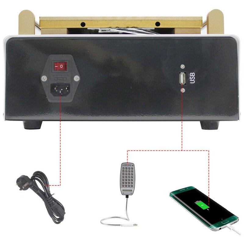 15 Built-in Vacuum Pump LCD Screen Separator Machine Screen Separator Kit for PhoneTablet Repair