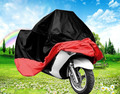 firm Motorcycle Covers Rain Dust  Sun Prevent Bask Waterproof black red motorcycle car covers High Quality