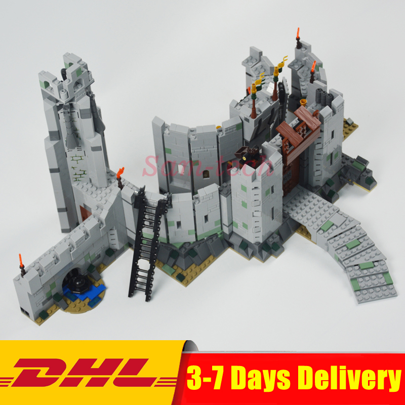 DHL IN STOCK 2018 Lepin 16013 1368Pcs The Lord of the Rings Series The Battle Of Helm' Deep Model Building Blocks Bricks Toys dhl lepin 18032 2932 pcs the mountain cave my worlds model building kit blocks bricks children toys clone21137 in stock