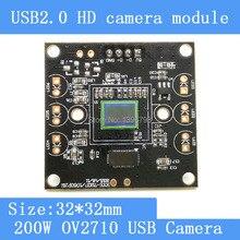 Камеры наблюдения HD 200 Вт пикселей 1/2.7 OV2710 ПЕЧАТНОЙ платы таблетка ноутбук с помощью USB модуль камеры