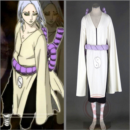 Kaguya Kimimaro Cosplay Costume From Naruto Shippuden Anime-in Anime  Costumes from Novelty & Special Use on Aliexpress.com | Alibaba Group