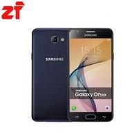Nowy Oryginalny Samsung Galaxy On5 G5700 Telefon komórkowy 5.0 ''Dual SIM 3G RAM 32G ROM 4G LTE Android CHINY 6.0 Linii Papilarnych Smartphone