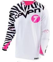 Bán buôn 2017 Người Đàn Ông Mới DH MX Xuống Dốc motocross racing jersey xe máy moto dài tay áo t shirt off-road jersey 100% Polyester