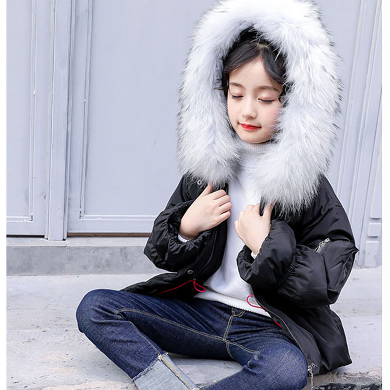 new 2018 thick winter fur jackets for baby big girls outwear & coats kids warm tops clothing children down coats girls clothes new spring teenagers kids clothes pu leather girls jackets children outwear for baby girls boys zipper clothing coats costume