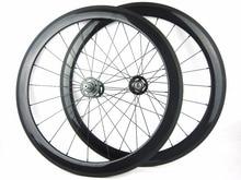 50mm carbon track bike wheels 700C road single speed 23mm bicycle wheels