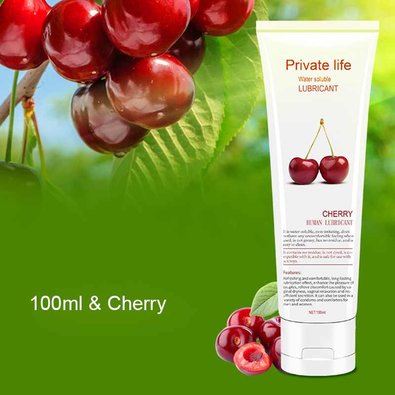 Fruit Flavor Lubricant For Anal Sex Oral Sex Massage Oil Lubricating Oil секс игрушки