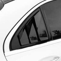 For 2015 2019 Mercedes Benz C W205 mercedes w205 C amg Class 2019 CLA W117 A W177 louver trim window trim accessories