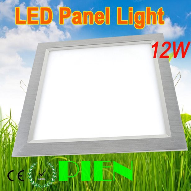 300 x 300 mm LED Panel light focos luminaria ceiling led lampadas recessed 85~265V 4500K +LED Driver by DHL 6pcs
