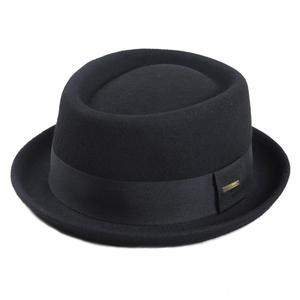 Image 1 - Sedancasesa 100% オーストラリアウール男性の fedora 帽子豚肉パイ帽子古典的な教会ウール 2020 ハットフェルト新秋冬