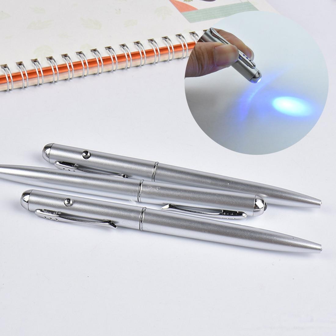 Multi-funktion LED UV Licht Magie Kugelschreiber Stift mit Unsichtbarer Tinte Geheimnis Kugelschreiber Für Schule Büro Liefert Kreative geschenke