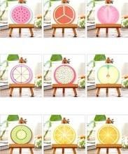 1packs/lot Sweet 3D Fruit Greeting Card Nine Random Design DIY Cards Post  Gift