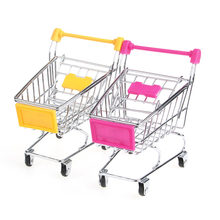 Mini Supermarket Shopping Cart Burung Beo Burung Kecerdasan Pertumbuhan Training Toy-P101(China)