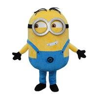New Free Shipping EPE Minion Mascot Costume Despicable Me Mascot Costume