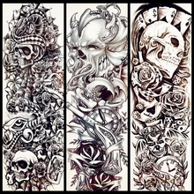Buy Skull Sleeve Tattoo Designs For Men And Get Free Shipping On