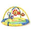 Esteira do Jogo Ginásio de Atividade do bebê jogo Quadro de Fitness mat Brinquedos Educativos Macaco