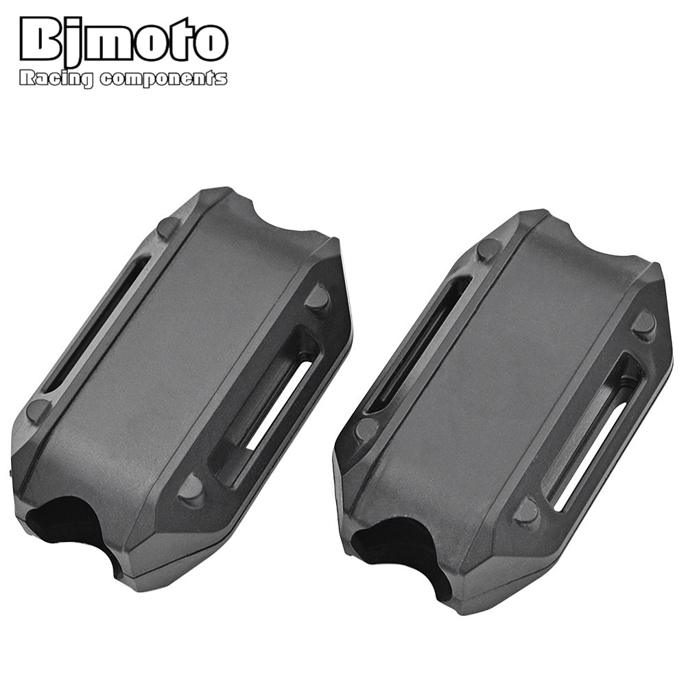 BJMOTO For BMW R1200GS LC adv F700GS F800GS Engine Protection Bumper Decorative Block Dismantling Installation 25mm Diameter