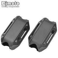 BJMOTO For BMW R1200GS LC Adv F700GS F800GS Engine Protection Bumper Decorative Block Dismantling Installation 25mm