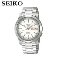 SEIKO Watch Shield On The 5th Of Steel Men S Table Simple Business Casual Automatic Mechanical