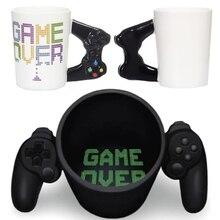Новинка 380 мл креативная кофейная кружка 3D игровой контроллер ручка кружка керамическая чашка молоко чай кружки Gameboy День рождения Рождественский подарок