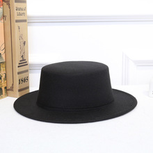 bd3f4bd3b1923 Women Fall Winter Vintage Classic Retro Jazz Ladies Warm Female Fashion  Fedoras Bucket Cotton Felt Caps