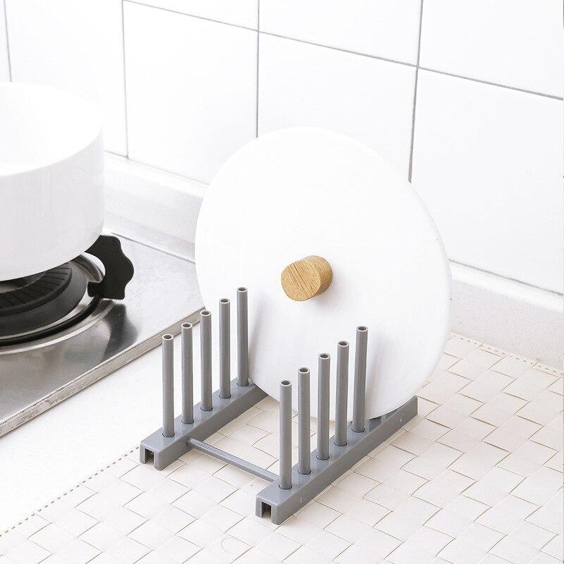 New Under Sink bowl plate dish drainer rack plastic BOOK Pot lid cover Holder storage shelf for kitchen Organizer accessories 5