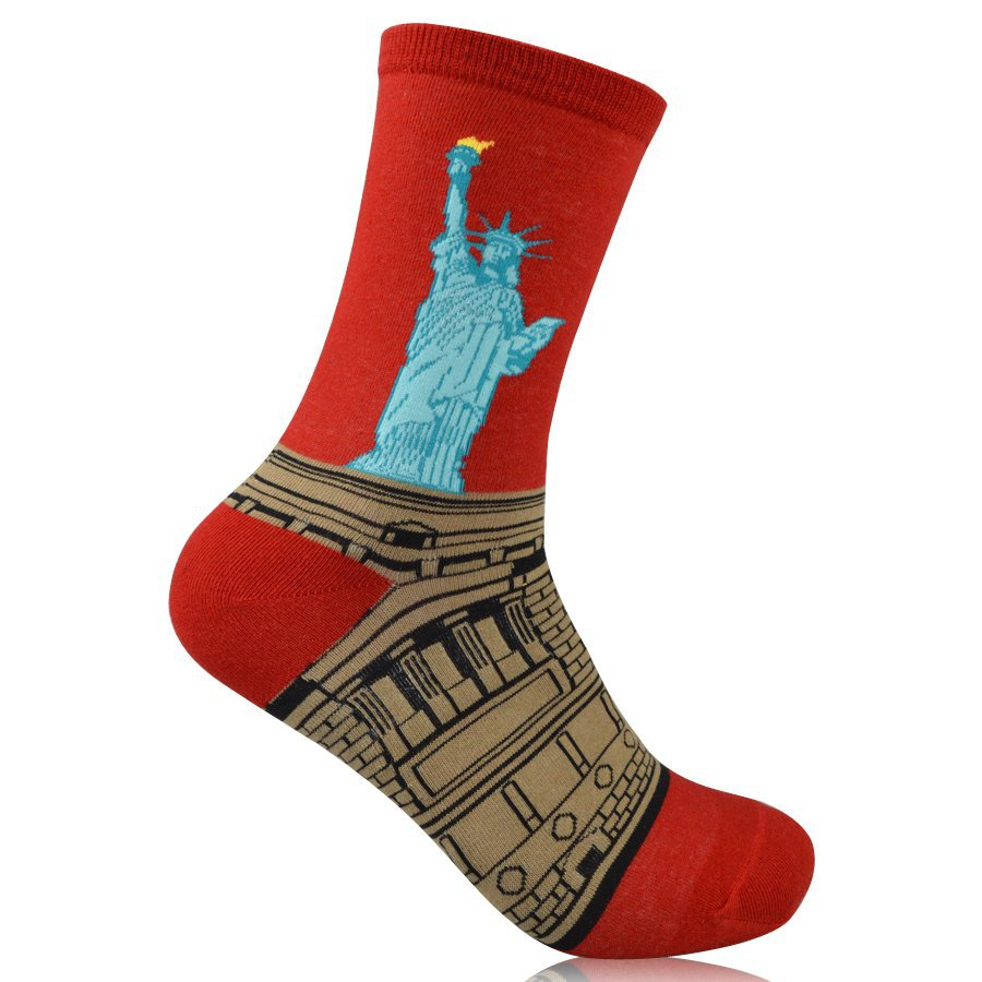 NY Statue of Liberty Pride Socks