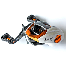 190g 12+1BB Gear Ratio 6.3:1 Black Left & Right Hand Baitcasting Ice Fishing Reel Low Profile Baitcaster For Fishing Tackle