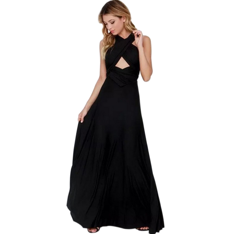 Sexy Women Multiway Wrap Convertible Boho Maxi Club Red Dress Bandage Long Dress Party Bridesmaids Infinity Robe Longue Femme T9 in Dresses from Women 39 s Clothing