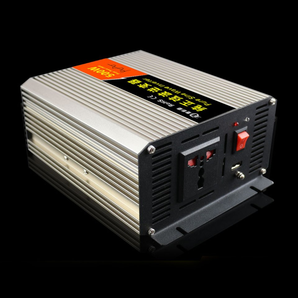 New High Conversion Efficiency Car Inverter 500W DC12V To AC110V Pure Sine Wave Inverter With USB Charge Port Transformer Hot cxa l0612 vjl cxa l0612a vjl vml cxa l0612a vsl high pressure plate inverter