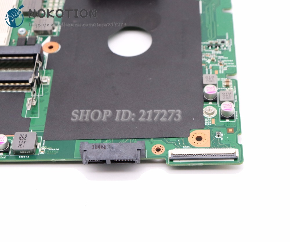 NOKOTION CN-0XV36V 0XV36V Laptop Motherboard For Dell Vostro 3550 V3550 MAIN BOARD HM67 DDR3 HD6630M Video Card 1GB