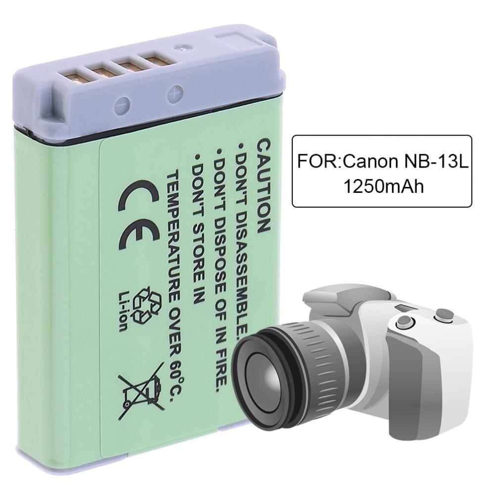 Nb 13l 36v 45wh 1250mah Li Ion Camera Battery For Canon Powershot G5x Kamera Pocket G5 X G7 Mark Ii G7x G9 G9x Sx720 Hs Batteries In Digital From Consumer