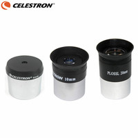 Celestron Telescope Plossl HD Eyepiece Set 4mm 10mm 20mm Multi Coated Lens Astronomical Monocular with 1.25 Inches Filter Thread