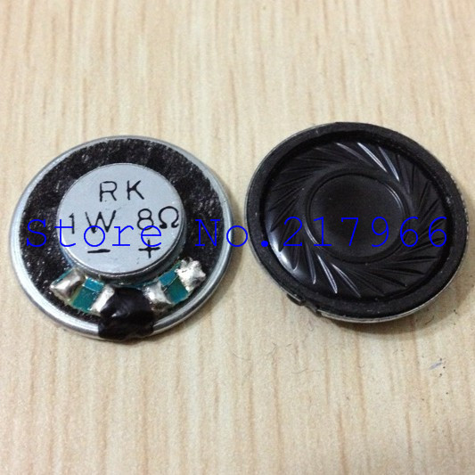 10PCS X ,RK Grade Thin Steel Inner Magnetic Speakers Speakers 1W 8 1 Watt 8 Ohm 20mm * 4mm