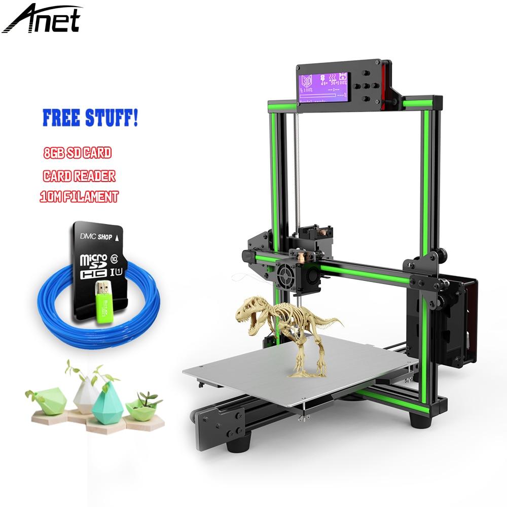 Anet 2018 NEW E2 Update 3d Printer Kit Easy Assembly