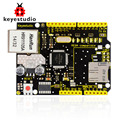 NEW! Keyestudio W5100 Ethernet Shield for arduino UNO R3 +Mega 2560