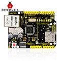 NOVO! Keyestudio W5100 Ethernet Shield para arduino UNO R3 + 2560 Mega