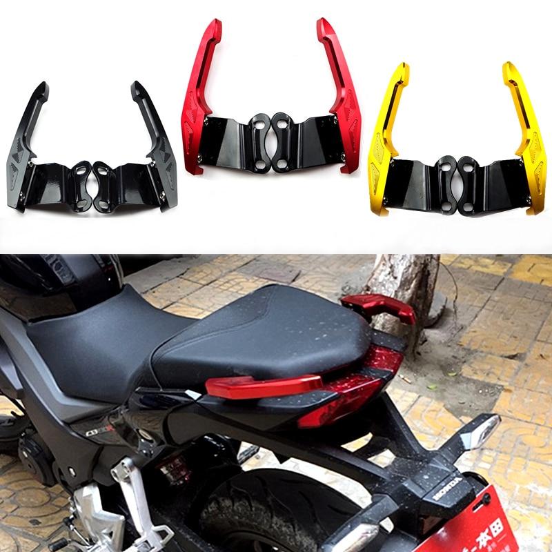 ЧПУ Алюминиевый мотоциклов заднего захватить мотоцикл после того, как почтовый ящик поручни для Honda CB190R CB190F